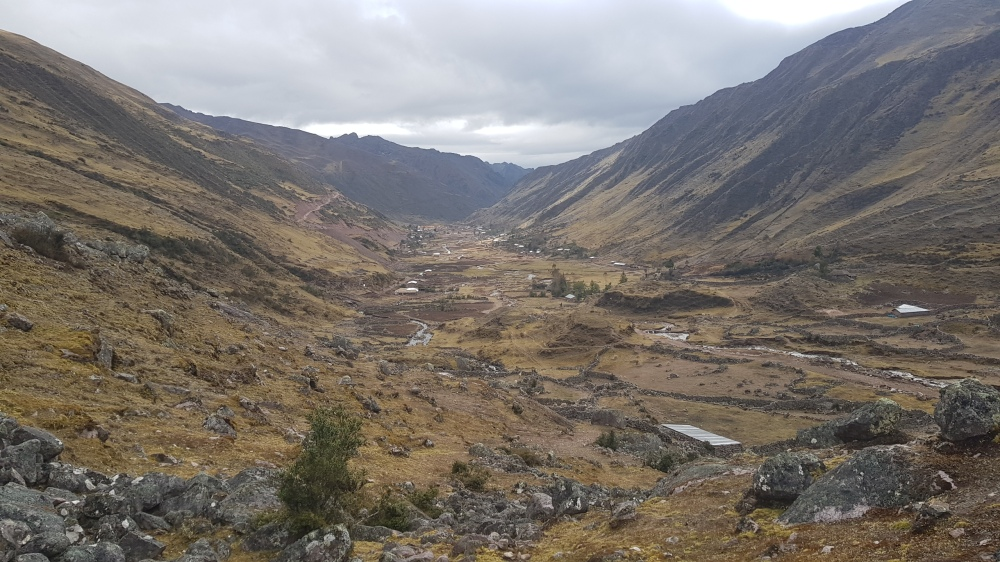 1 Lares Trek Beginning