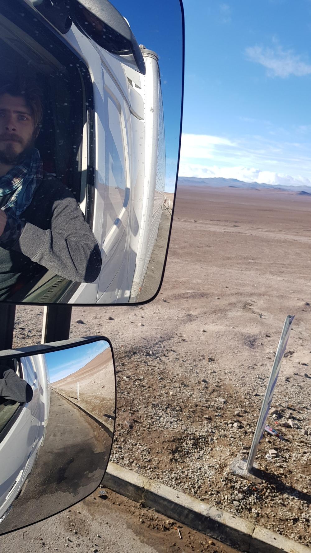 12 Ruta Cinco Side Mirror Selfie