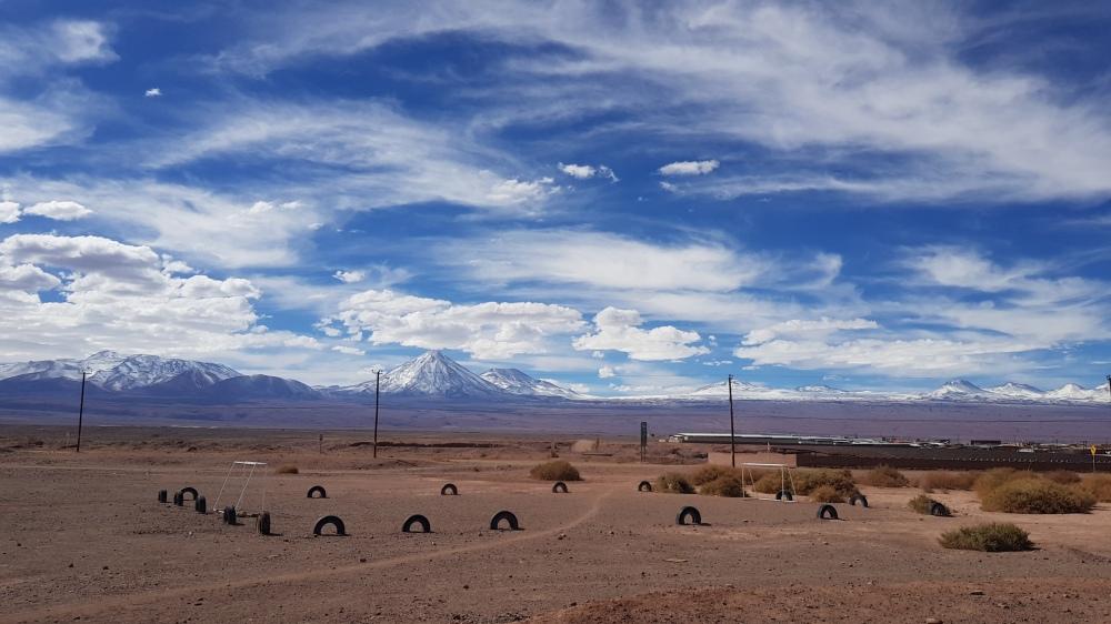 14 Ruta Cinco Soccer Field Mountains