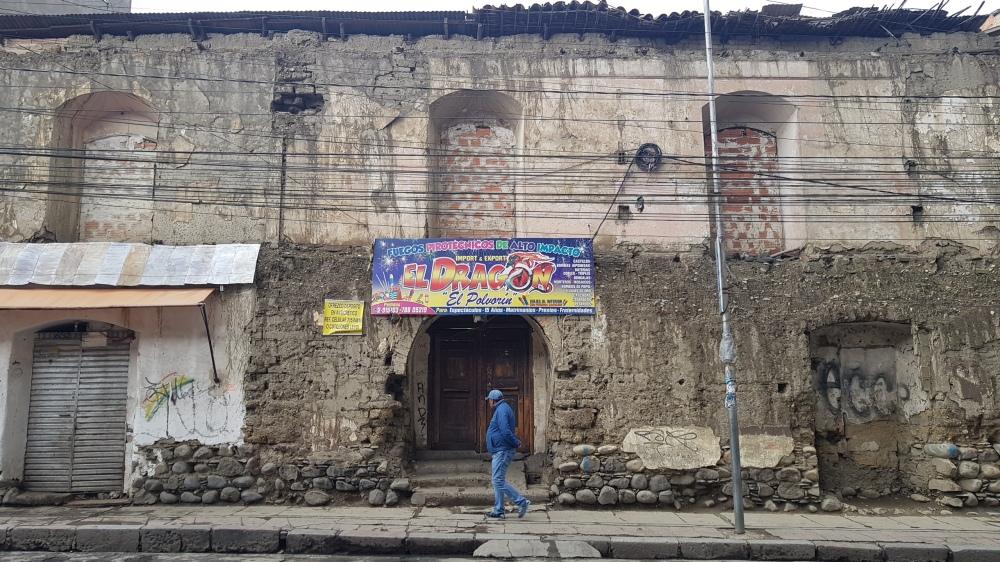 19 La Paz Derelict Building