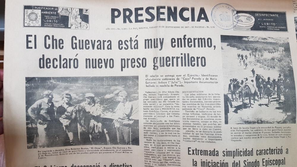 2 Che Newspaper