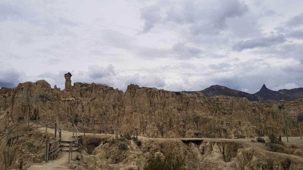 22 Valle de la Luna outside La Paz