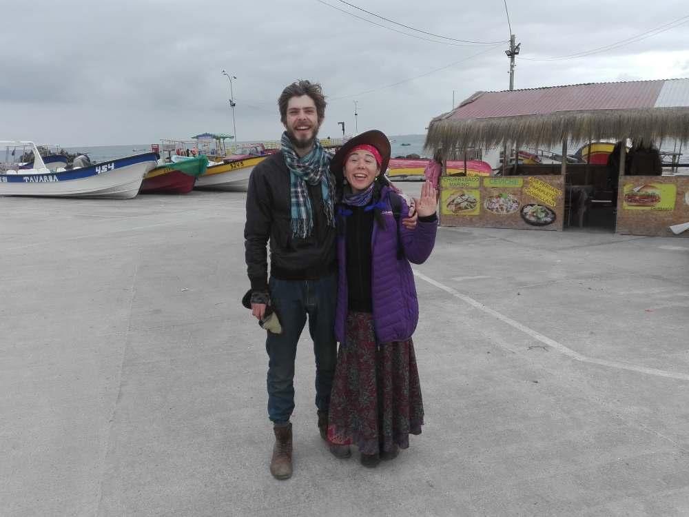 9 Punta de Choros Me and Paula