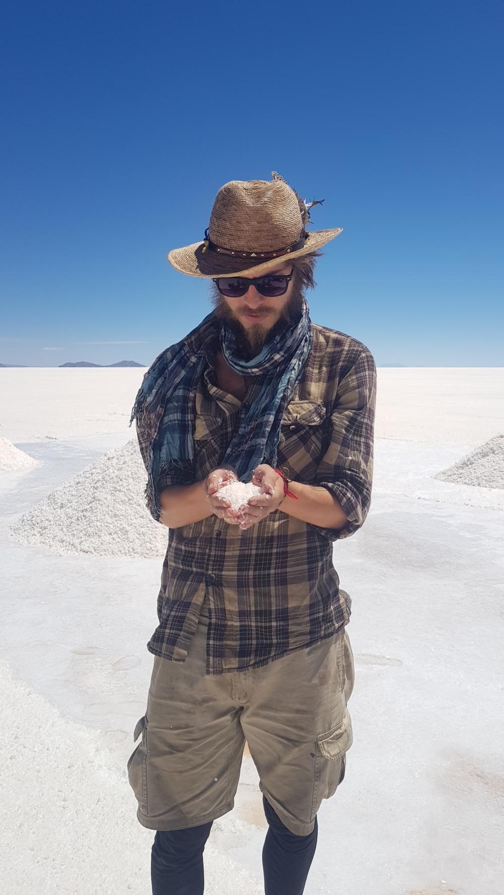 12 holding salt