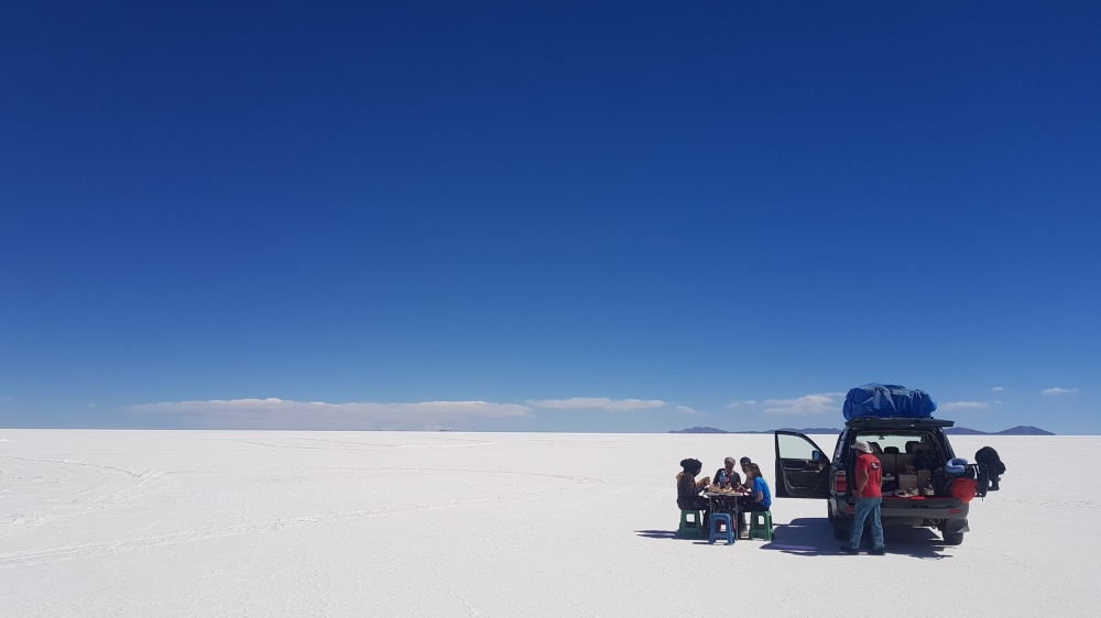 21 lunch on the salar