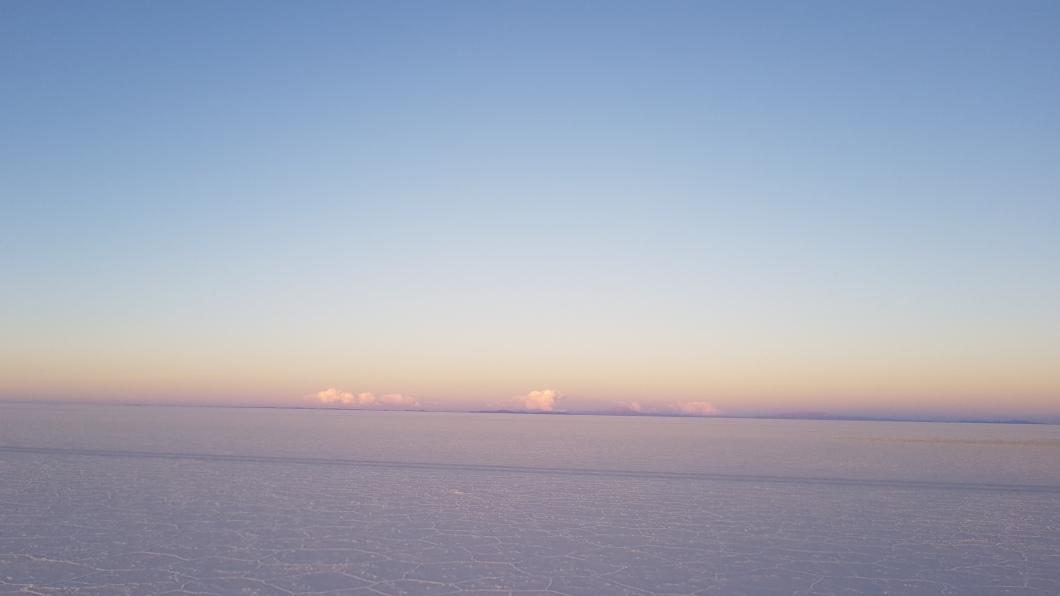 26 salt flat sunset
