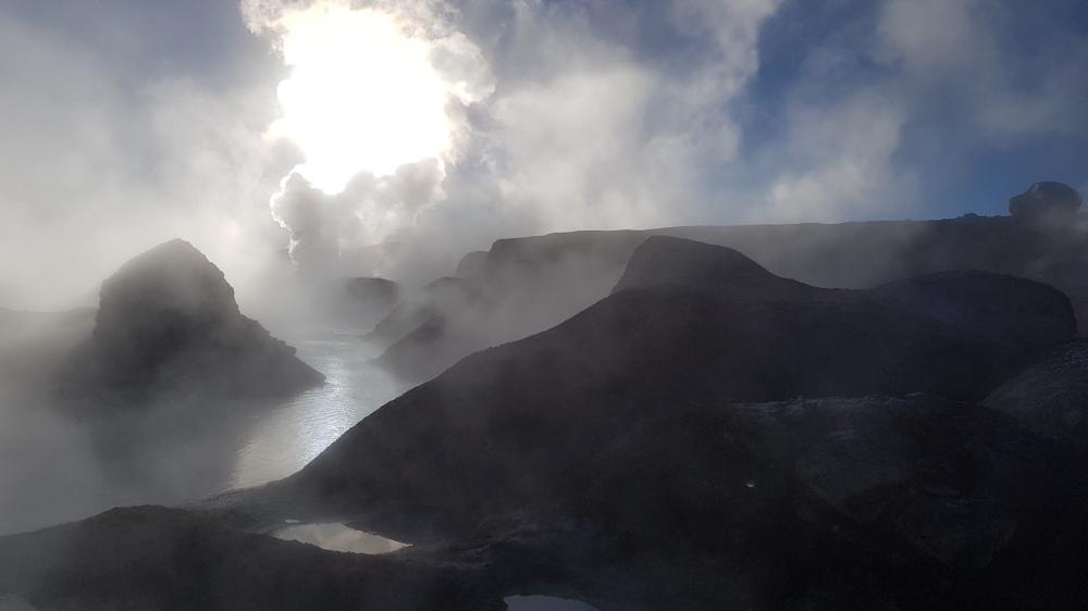 34 geysers